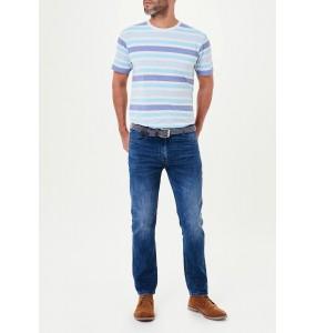 belted jeans-Darkwash