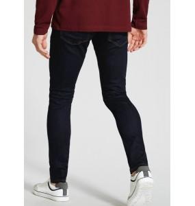 Black stretch skinny jeans
