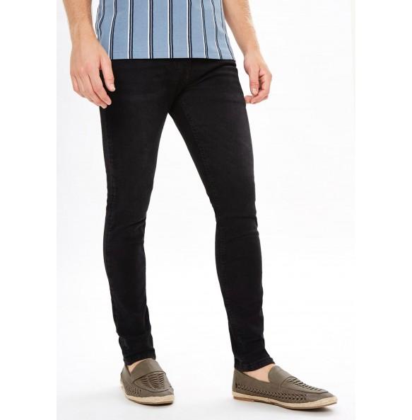 Stretch super skinny jeans-Black *10