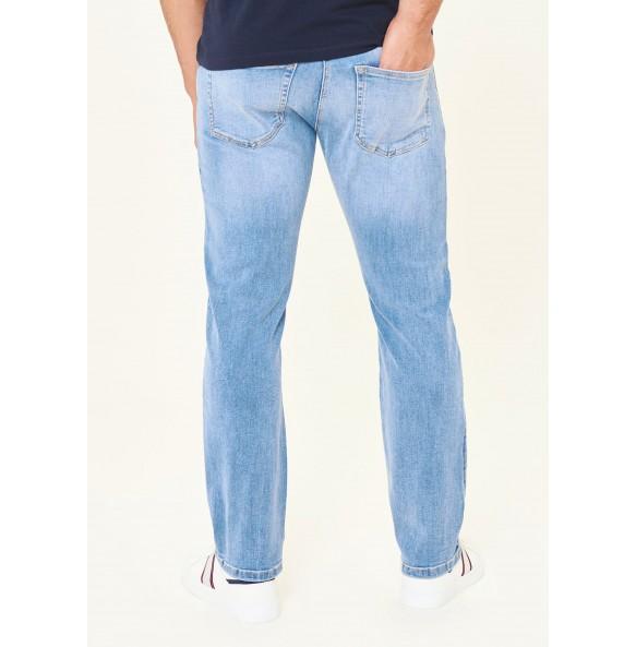 Stretch straight-leg jeans *10