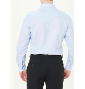 Long Sleeve Oxford Shirt, Regular-wathet