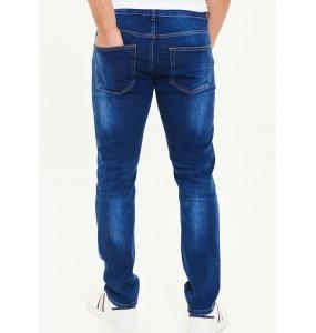 Navy stretch skinny jeans *10