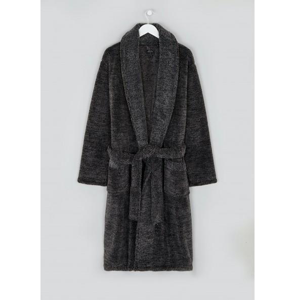 cape dress-Grey
