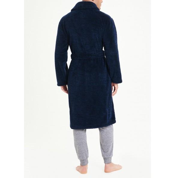 cape dress-Navy