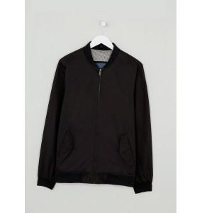 Black rainproof raincoat