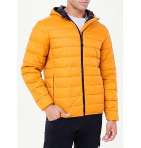 Mustard Lightweight Hooded Jacket