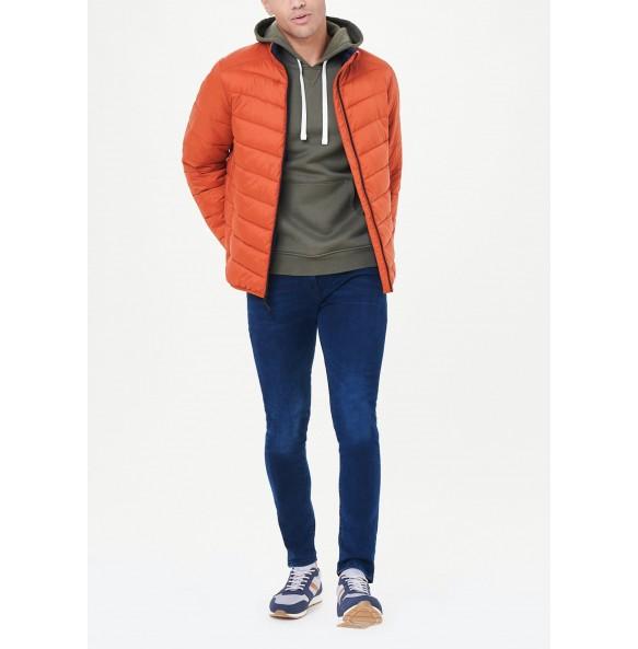 Orange Lightweight Fleece Jacket