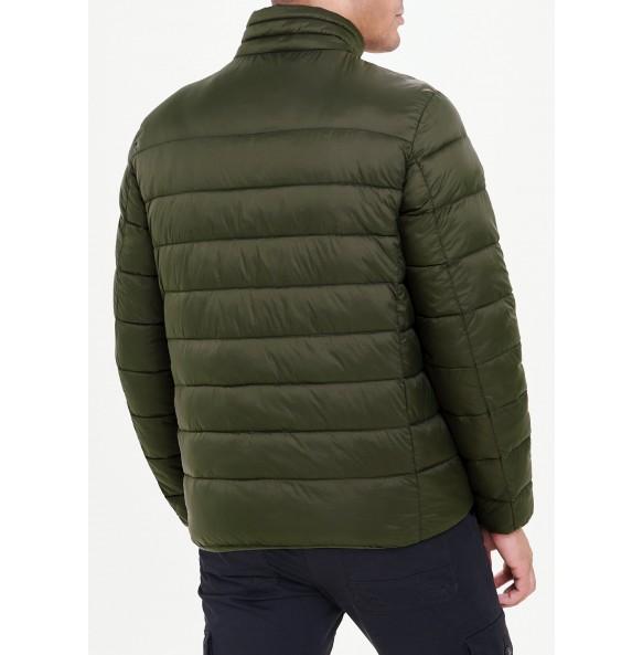 Lightweight fleece jacket in khaki
