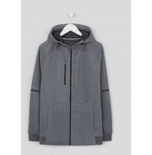 Grey sports hoodie *15