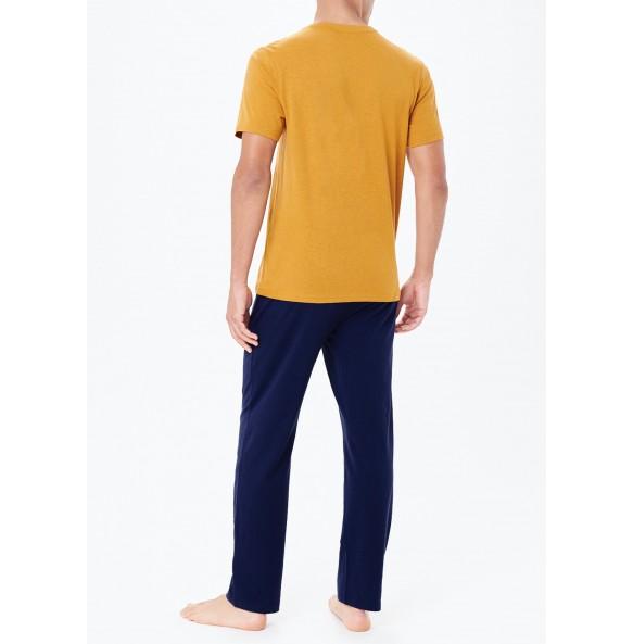 Basic Striped Pajama Set