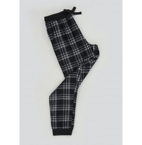 Wool Plaid Pajama Pants