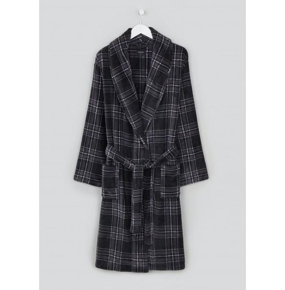velvet dress-Black