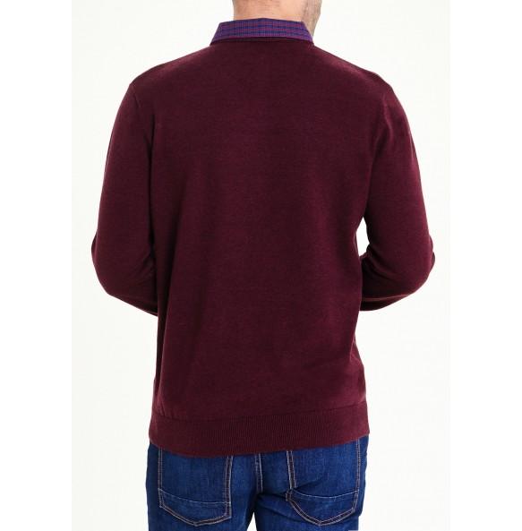Imitation Shirt Jumper *10