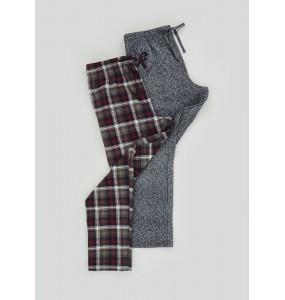 2 packs of wool pajama pants